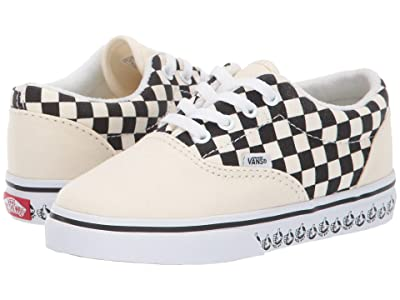 Vans Kids Era (Infant/Toddler) ((Vans BMX) White/Black) Boys Shoes