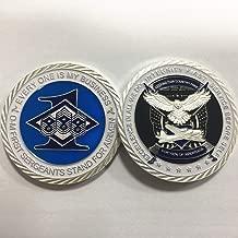United States First Sergeants Air Force Challenge Coin Veteran Souvenir