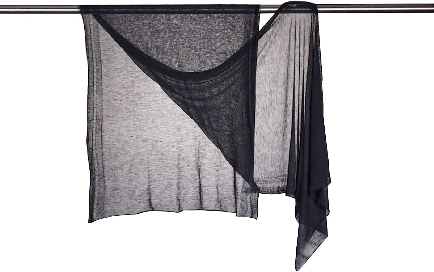 Ultra sheer 100% cashmere shawl wrap