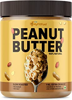 MyFitFuel Peanut Butter (All Natural), Extra Crunchy, 1 Kg