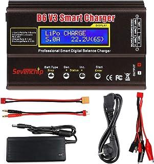 FancyWhoop B6 V3 Lipo batteriladdare 80 W 6 A RC batteri bilbilladdare för LiPo Li-Ioner livslängd NiCd NiMH LiHV PB Rc Ho...