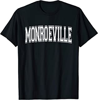MONROEVILLE PA PENNSYLVANIA USA Vintage Sports Varsity Style T-Shirt
