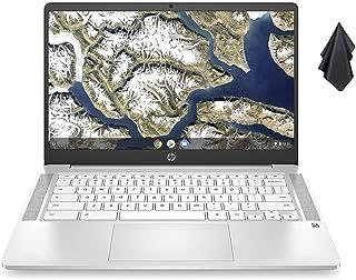 2021 HP Chromebook 14インチ HD ノートパソコン Intel Celeron N4000 最大2.6GHz 4GB DDR4 SDRAM 32GB eMMCストレージ バックライトキーボード ウェブカメラ WiFi 5 B...