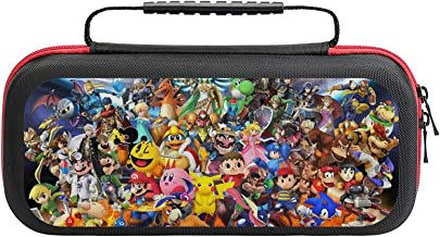 $20 » The Legend of Zelda Super Mario Kabi Rockman Bag, Switch Travel Carrying Case for Switch Lite Console and Accessories, She...