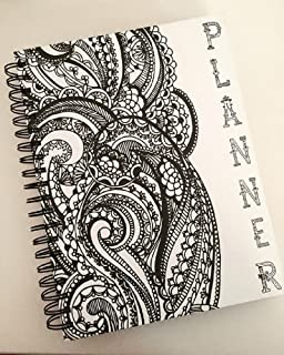 """Recollections Spiral 18 Month Doodle Planner - Hardcover - 8"""" x 10.5"""""""