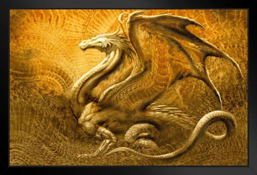 Gold covered dragon art 1st battalion 14th infantry regiment golden dragons dragon