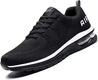 Men's Sneakers Running Shoes Lightweight Breathable Tennis Athletic Sport Air Fitness Gym Jogging