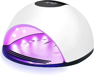 UV LED de la lámpara de uñas, Nivlan profesional 72W secador del clavo para geles Esmaltes, Esmalte cura la luz con 4 Configuración del temporizador, sensor inteligente automático