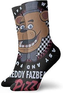 FETEAM, Five Nights at Freddy 's Pizza Niños Deportes Novedad Calcetines transpirables de poliéster