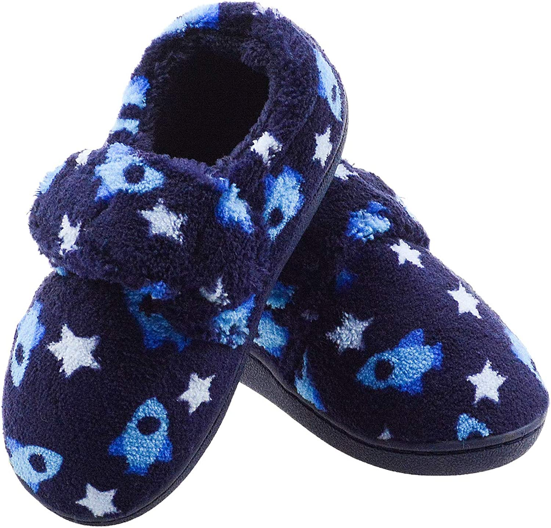 Vonair Toddler Little Kids Memory House Slippers Warm Foam Bedro lowest 55% OFF price
