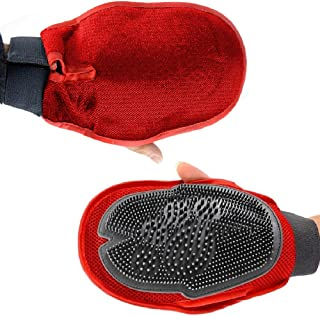 Pawsome 2-in-1 Pet Grooming Glove – these Dog Brushes for Shedding act as a gentle Deshedding Glove . This Dog Grooming Glove is a Dog and Cat Hair Glove and great Dog Grooming Glove