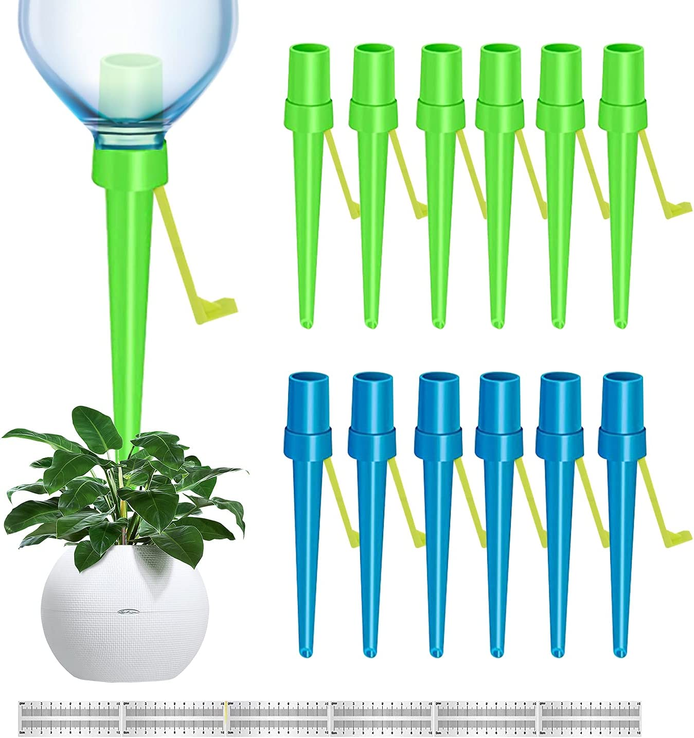 【New】Plant Self Watering Charlotte Mall Spikes Inexpensive Universal 12PCS