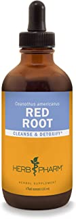 Herb Pharm Red Root Liquid Extract for Cleansing and Detoxifying - 4 Ounce