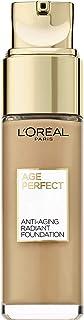 L'Oréal Paris Age Perfect nawilżający makijaż w kolorze beżowym 270, do skóry dojrzałej i promiennej cery, z SPF 17, 30 ml