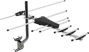 GE Pro Outdoor Yagi TV Antenna, HDTV Antenna, Long Range Antenna, Compact Design, Digital..