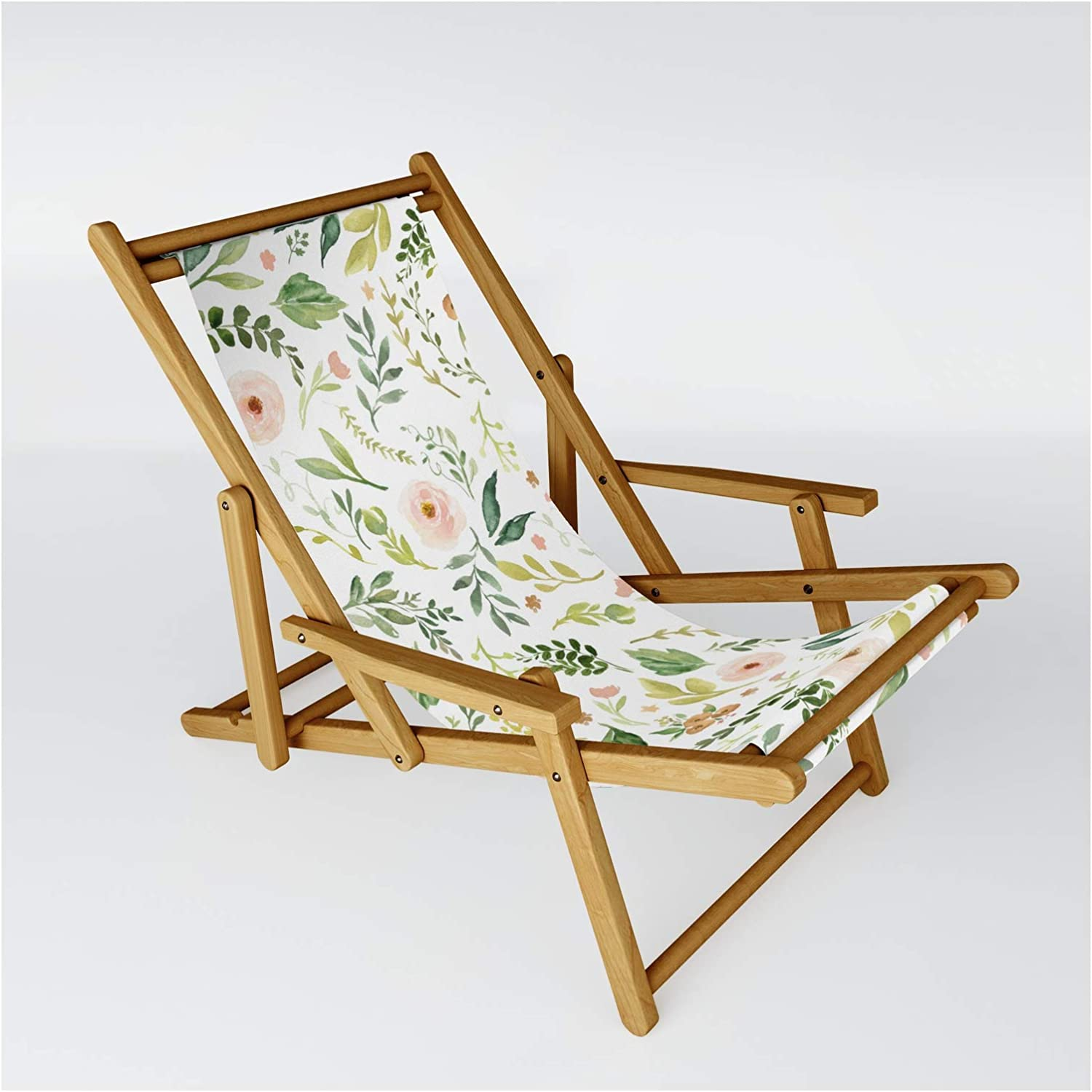 Society6 Botanical Spring Flowers by on Chair Japan Maker Max 65% OFF New Sling Junkydotcom