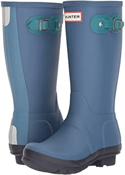 Hunter Kids - Original Contrast Sole Rain Boots (Little Kid/Big Kid)