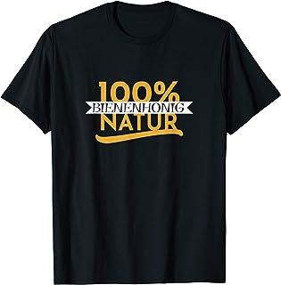 Bienenhonig 100% Natur Imker T-Shirt - Imkerei Geschenk