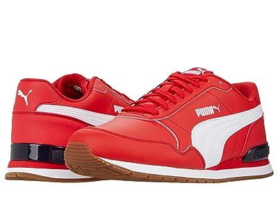 PUMA St Runner V2 Full L (High-Risk Red/Puma White) Men