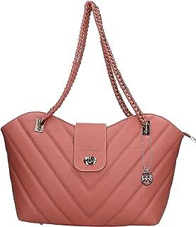 Roberta Rossi Outlet borsa a spalla da donna in vera pelle Sauvage fatta a mano in Italia, 24x30x14 cm. Made in Italy RRSS...