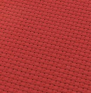18 Count Aida 75cm x 30cm Red