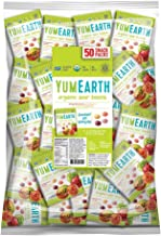 YumEarth Organic Sour Beans, 0.7 Ounce Snack Packs (Pack of 50)