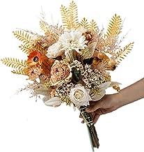 Bruidsboeket, Kunstbloem, Bruidsmeisjes Bruidsboeket, Nep Bloemen voor DIY Bruiloft Decoraties Centerpieces Arrangementen ...