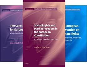Cambridge Studies in European Law and Policy (38 Book Series)