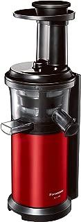 パナソニック ジューサー ビタミンサーバー メタリックレッド MJ-L400-R