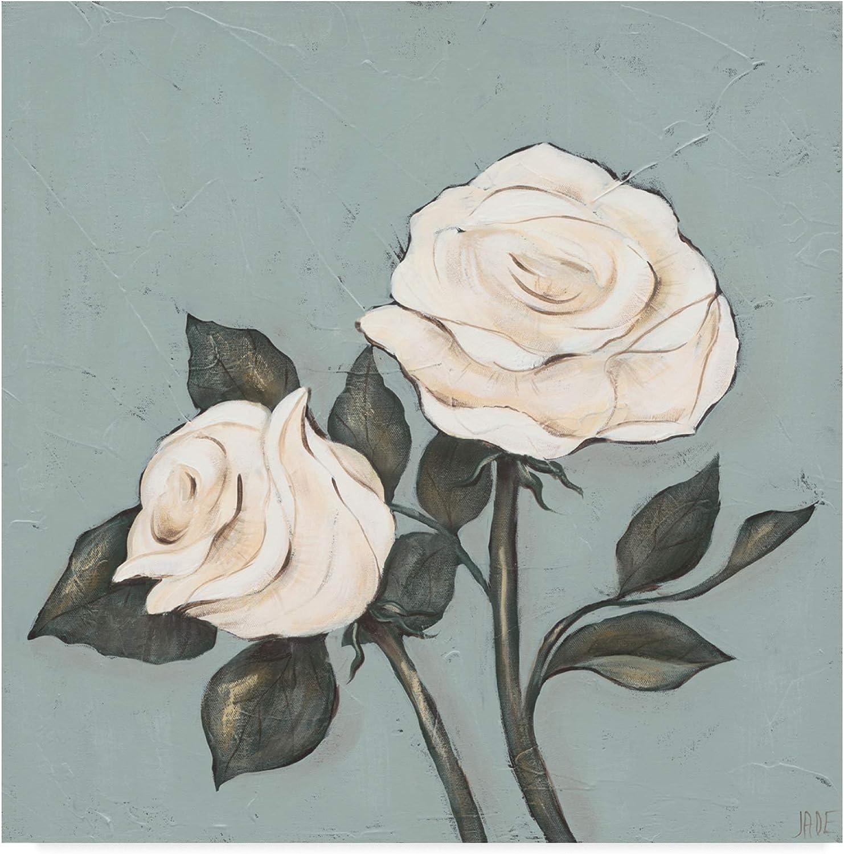 Trademark Fine Art Two Tan pinks by Jade Reynolds, 14x14