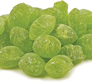 Claeys Sanded Candy Drops, Green Apple, 2 Pound