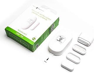Draadloze deur- en raamcontroller | Inbraaksensor met alarm en led - inclusief 3 adapters met maximaal 3 verschillende afs...