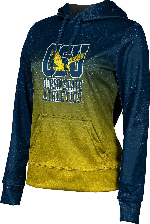 ProSphere Coppin State University Girls' Pullover Hoodie, School Spirit Sweatshirt (Ombre)