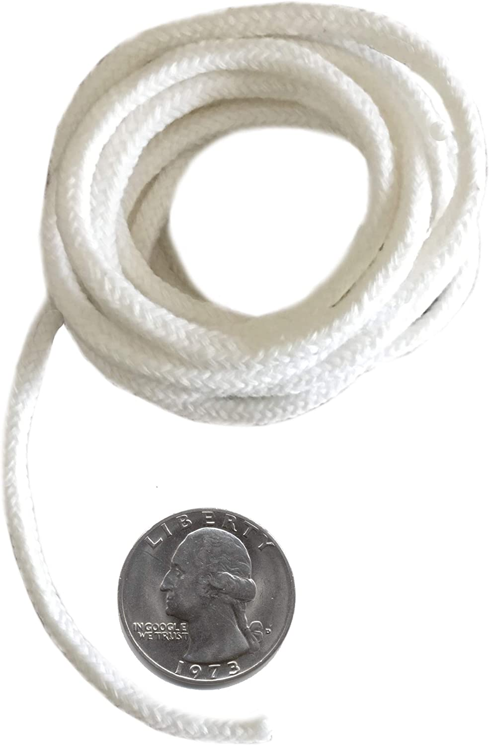 Firefly Brand - 5 San famous Francisco Mall Feet of W Cotton Eco Replacement 3.6mm Braided