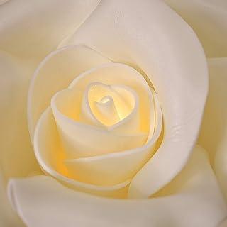 ArteXenia: Lampada da parete a forma di rosa