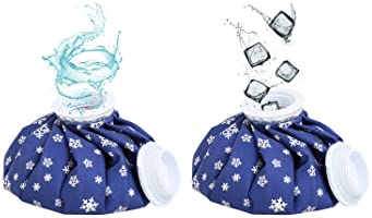 """NEWSTYLE Ice Bag, 3 Pack[6"""", 9"""" &11"""" ] Hot and Cold Reusable Ice Bag,Relief Heat Pack Sports Injury Reusable First Ai..."""