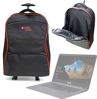DURAGADGET Maleta de Ruedas para Viajar para Portátil HP OMEN 15-ce016ns, ASUS FX504GE-DM198T, ASUS FX504GD-DM473, Medidas de Equipaje de Mano.