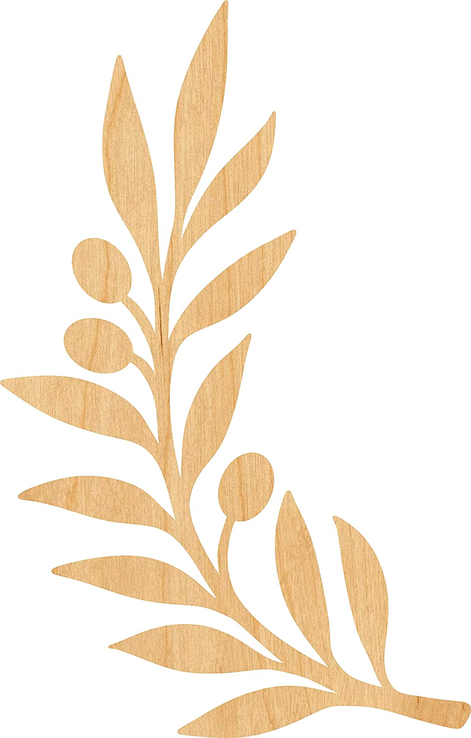 Olive Branch Laser Cut Out Wood Safety and trust 2