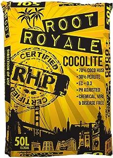 Root Royale Coco/Perlite Mix 50L Hydroponics Growing Media, Horticulture Grow Medium