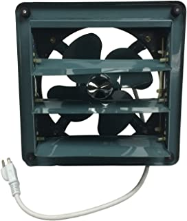 Professional Grade Products 9800511 Metal Shutter Exhaust Fan for Garage Shed Pole Barn..