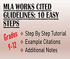 MLA Works Cited Guidelines Lecture- Reference, Examples, Template
