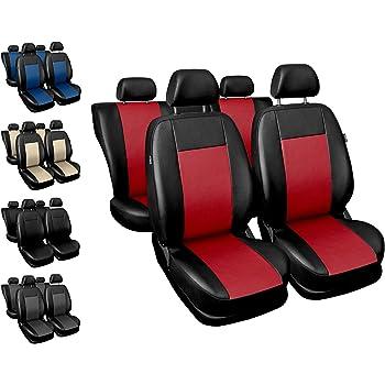 Schwarz-graue Dreiecke Sitzbezüge für AUDI A4 Autositzbezug Komplett