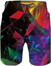 Spreadhoodie 3D Homme Short de Bain Bermuda Homme S/échage Rapide Exercice Shorts Motif imprim/é en Swimming Tunks Surfant Shorts