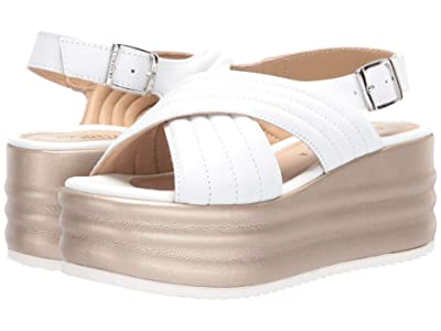 Cordani Yvonne (White Leather) Women