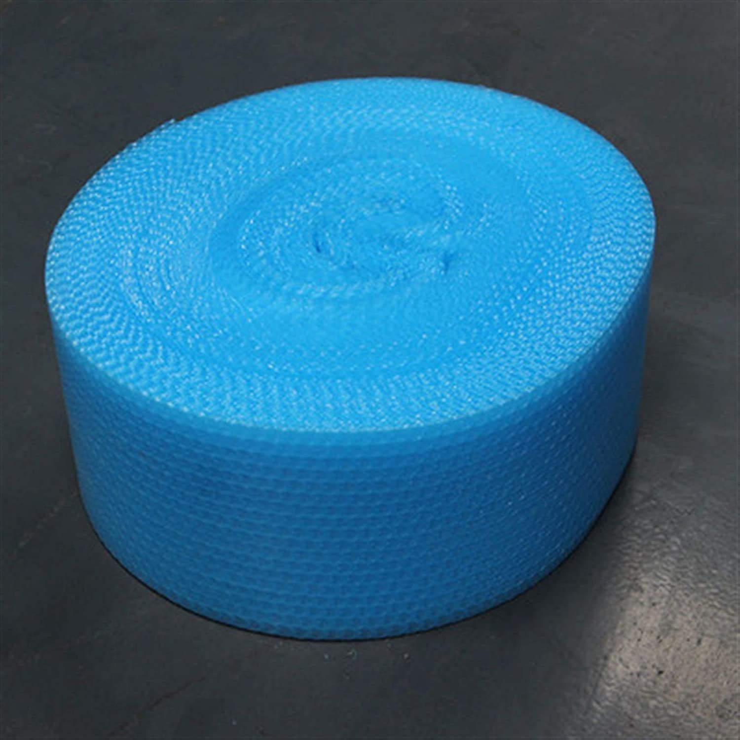 Tear Resistance Multipurpose Bubble Wrap 20cmx5m Orange Heart-Shape Mini Air Bubble Roll Party Favors and Gifts Packing Foam Roll Wedding Decoration Color : Blue