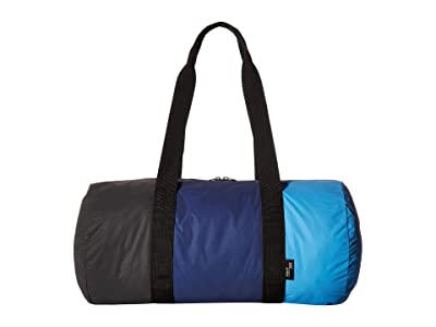 Herschel Supply Co. Packable Duffle (Alaskan Blue Reflective/Medieval Blue Reflective/Black Reflectiv) Duffel Bags