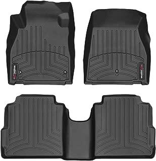 WeatherTech Custom Fit FloorLiner for Nissan Kicks - 1st & 2nd Row (Black)