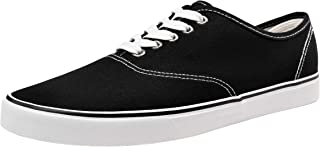 VEPOSE Men's Fashion Sneaker Canvas Casual Shoes Low Top Skate Shoe