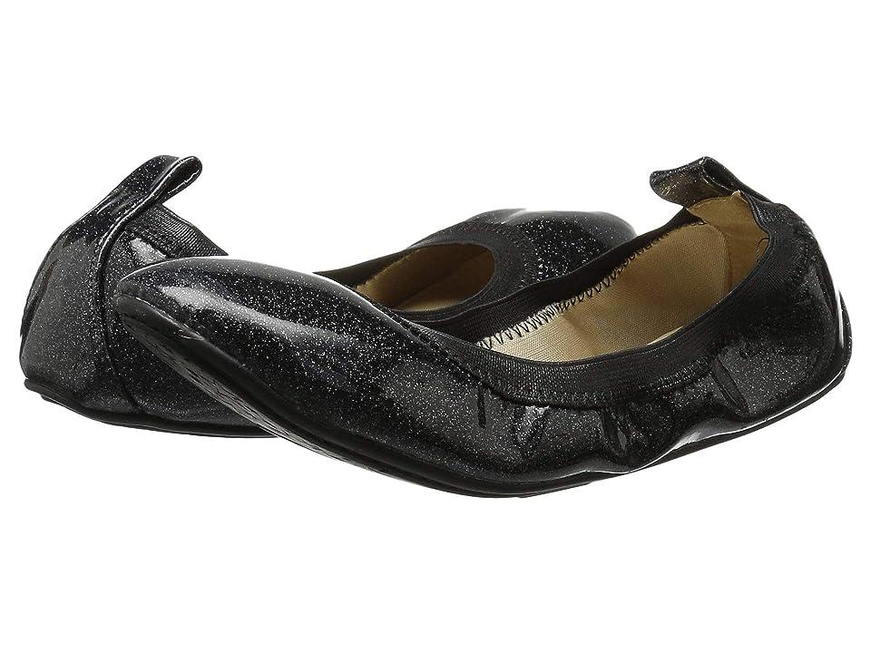 Yosi Samra Kids Limited Edition Miss Samara (Toddler/Little Kid/Big Kid) (Black Patent Glitter) Girls Shoes