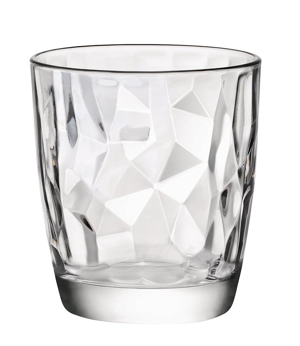 アッティカス扇動鳴らすBormioli Roccoダイヤモンド13.25?OzダブルOld Fashionedガラス、4のセット